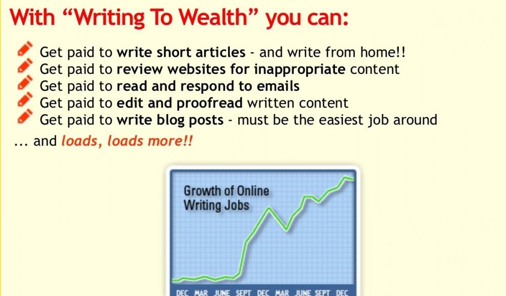 high paying writing jobs